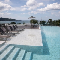 The rooftop pool at the Hotel Clover Patong Phuket | BLOOMBERG
