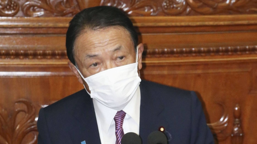 Taro Aso vows to revive virus-hit economy and promote structural reforms