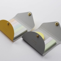 Take a memo: Yamama's new sticky notes come in extra slim and round, and are stored in handy business card-sized cases.  