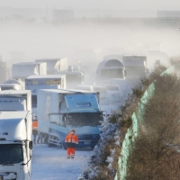 Heavy snow across northern Japan causes deadly pileup on Miyagi expressway