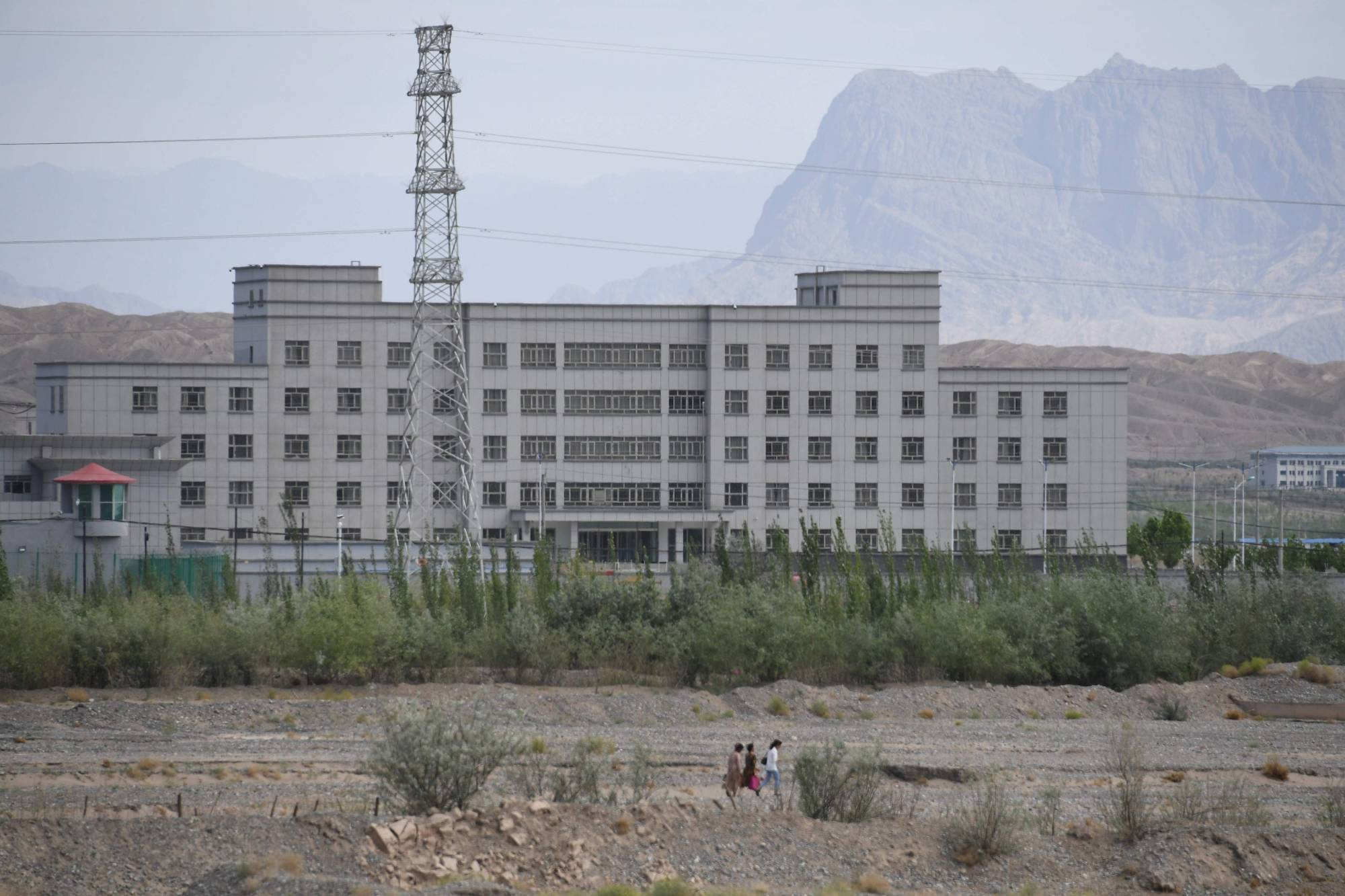 A facility believed to be a re-education camp where mostly Muslim ethnic minorities are detained, in Artux in China's western Xinjiang region | AFP-JIJI
