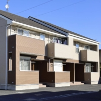 An apartment in Misato, Saitama Prefecture, where Yuki Kanai and his wife Azusa are suspected of neglecting their 3-month-old daughter who died last year | KYODO