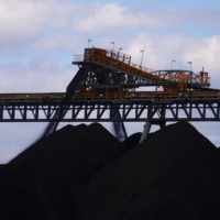 Coal is unloaded at the Ulan Coal mines near the New South Wales town of Mudgee in Australia in 2018. | REUTERS