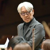 Ryuichi Sakamoto contracted oropharynx cancer in 2014 but achieved remission after receiving treatment. | KYODO
