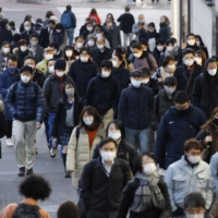 Tokyo reported 1,026 new COVID-19 cases on Tuesday. | KYODO