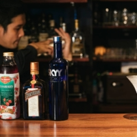 Kengo Iwata is the owner of Ibus, a whisky bar in Tokyo's Toranomon business district. | COURTESY OF PAKUTASO