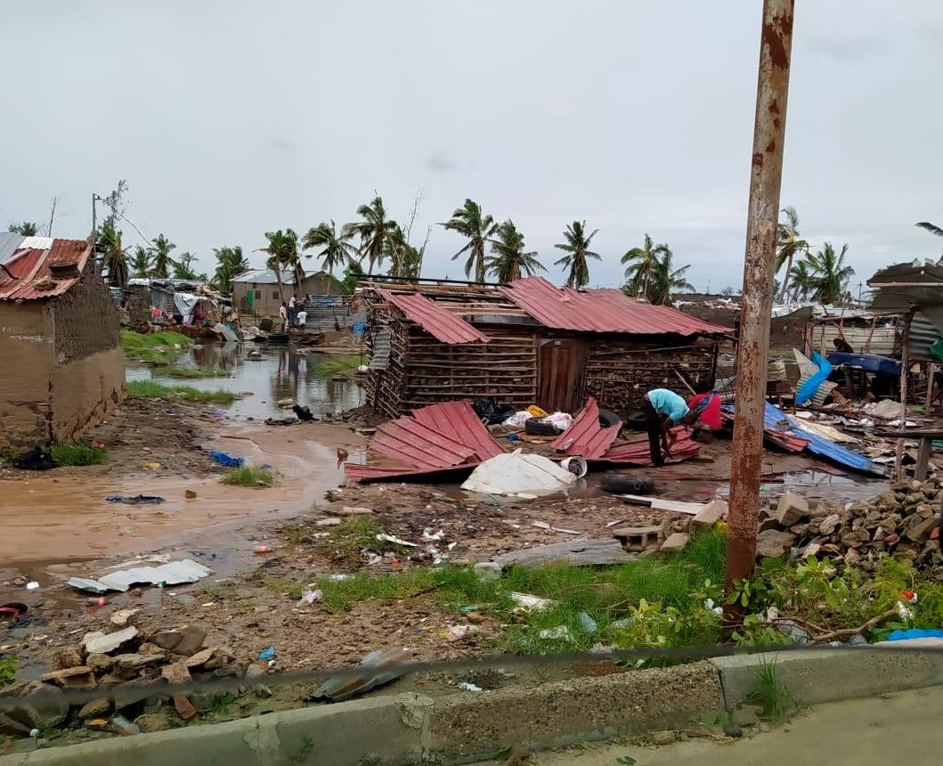A social media image obtained by Reuters shows some of the damage caused by Tropical Cyclone Eloise in Beira, Mozambique, on Jan 23. | REUTERS