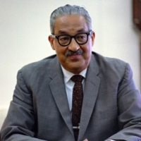 Thurgood Marshall in 1967 | YOICHI R. OKAMOTO