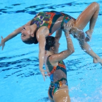 The Brazilian team competes during the XVIII Pan American Games in Lima on July 31, 2019. | REUTERS