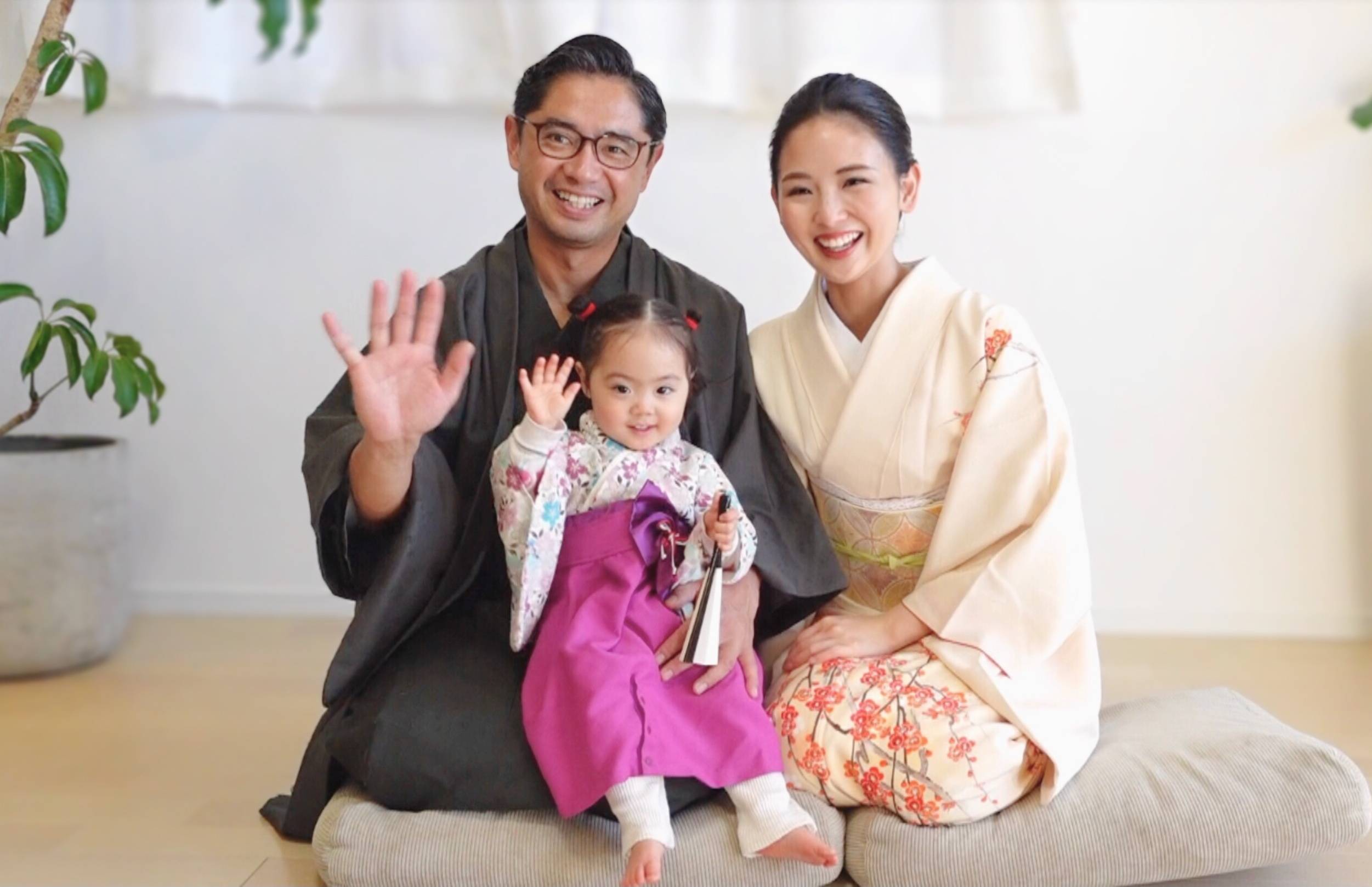 Welcome to the family: The videos on the Kimono Mom YouTube channel often focus on what it's like to be a mother in Japan. | COURTESY OF KIMONO MOM