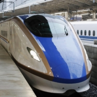 Revenue from JR West's bullet train operations dropped to 30% of their previous year's level in April-December 2020. | KYODO