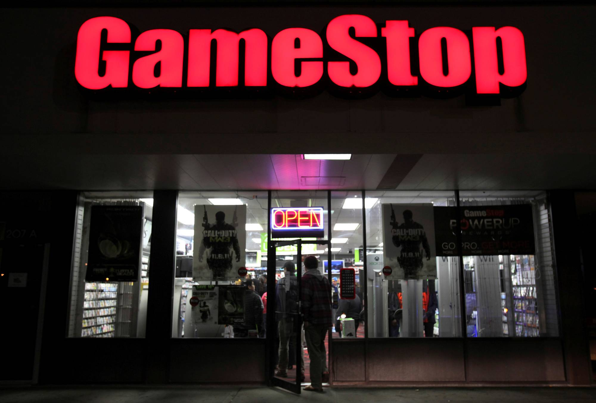 GameStop shares recovered some losses to end the day down 44%. The shares then rebounded significantly in the after-hours trading session, after Robinhood said it would