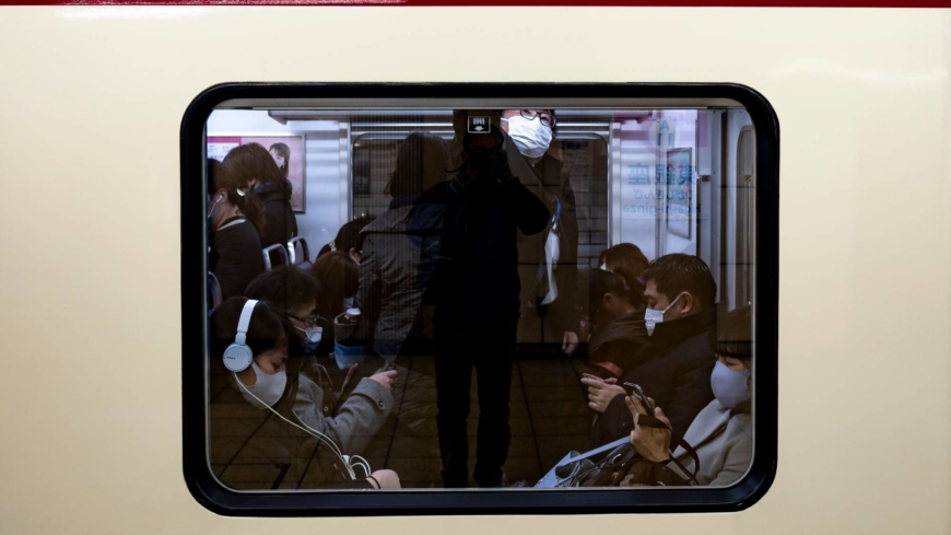Only 37% of firms met Japan's emergency target of cutting commuters by 70%