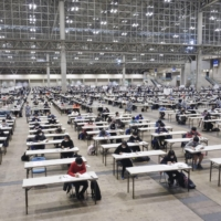 Junior high schools in Japan rush to adapt entrance exams amid pandemic