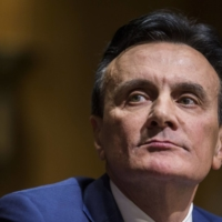 Pascal Soriot, chief executive officer of AstraZeneca PLC, attends a U.S. Senate Finance Committee hearing on drug pricing in Washington in February 2019.  | BLOOMBERG