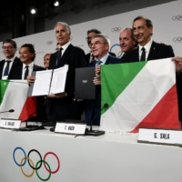 Italian Olympic Committee says it won't ask for athletes to be vaccinated first