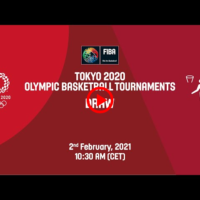 Live Draw — Tokyo 2020 — Men's and Women's Olympic Basketball Tournaments | FIBA — THE BASKETBALL CHANNEL