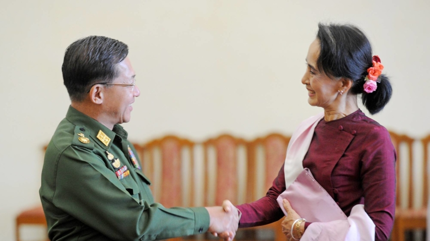 All eyes on Myanmar army chief Min Aung Hlaing as military seizes power