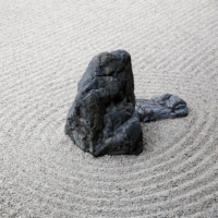 A Japanese rock garden | GETTY IMAGES