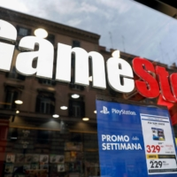 A GameStop Corp. store in Rome | BLOOMBERG