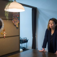 Nobuka Miki, a resident of Suttsu, Hokkaido, and co-leader of a group fighting against the town's attempt to host a nuclear waste storage facility, says the town's mayor isn't listening to residents. | BLOOMBERG