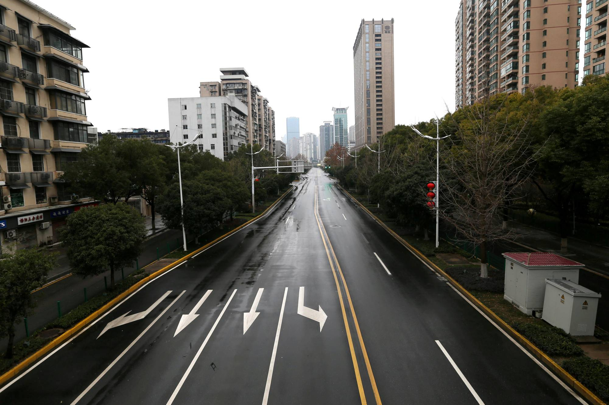 Wuhan, the epicenter of the COVID-19 outbreak, was placed under lockdown in January 2020, the first area of many around the world to be closed off for periods of the year. | CHINA DAILY / VIA REUTERS