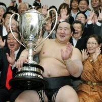 Mongolian Asashoryu was the first yokozuna to hail from somewhere other than Japan or the United States. | KYODO