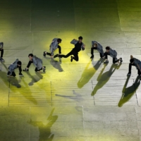K-pop boy band EXO performs during the Opening Ceremony of the 17th Asian Games in Incheon, South Korea, in 2014. | REUTERS