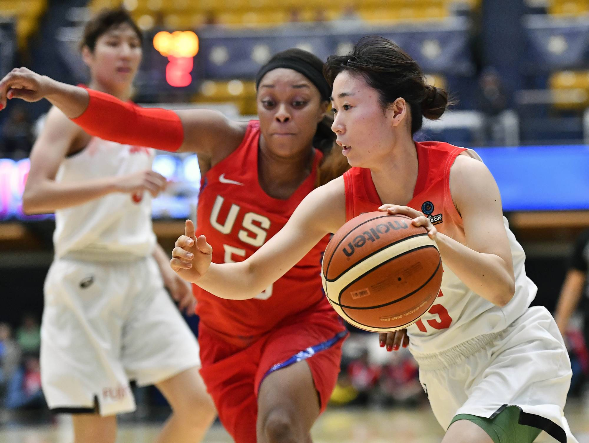 Japan's women's team may have to play without guard Nako Motohashi during the 2020 Tokyo Games. | USA TODAY / VIA REUTERS