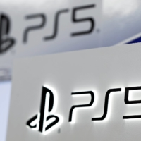 Sony Corp. raised its profit outlook due to robust sales of its PlayStation 5 game console. | REUTERS