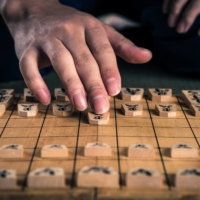 About 6.2 million people in Japan played shogi in 2019, and the Japan Shogi Association has 55 branches overseas. | GETTY IMAGES