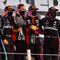Six of Formula One's 20 drivers have tested positive for the novel coronavirus. | POOL / VIA REUTERS