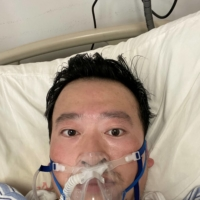 Dr. Li Wenliang on February 3, 2020  | LI WENLIANG/GAN EN FUND VIA REUTERS