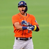 The Astros have signed a one-year contract with shortstop Carlos Correa worth a reported $11.7 million. | USA TODAY / VIA REUTERS