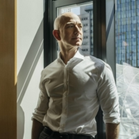 Jeff Bezos, the founder of Amazon, in Seattle in 2017. Bezos, the firm's chief executive, will hand over the reins of the e-commerce giant this summer and transition into the role of executive chairman. | KYLE JOHNSON / THE NEW YORK TIMES