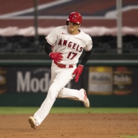 Shohei Ohtani will earn $3 million this season and $5.5 million in 2022 after signing a two-year contract with the Angels.  | USA TODAY / VIA REUTERS