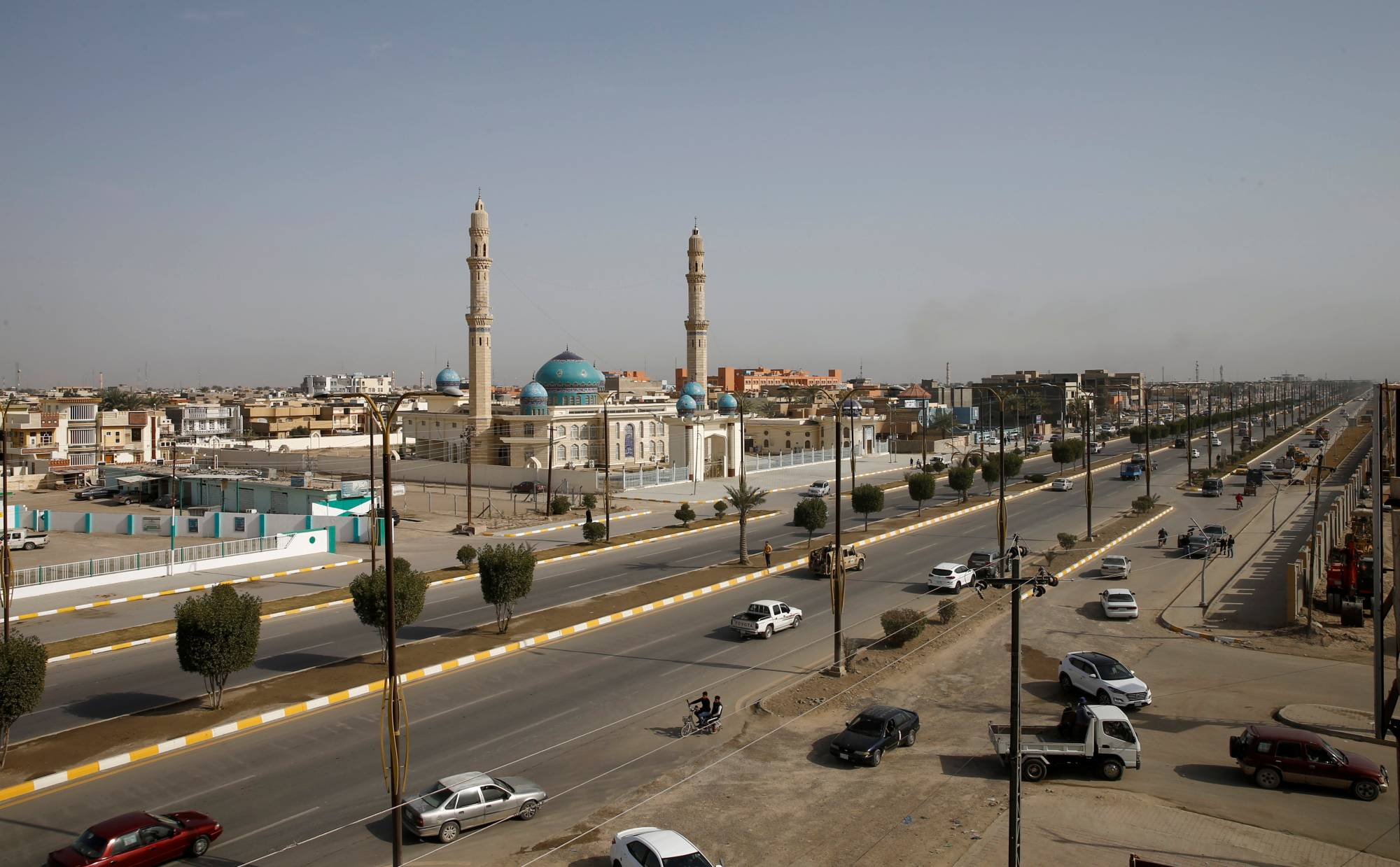 Fallujah and other major cities in Sunni regions once held by IS have begun to revive. But outside urban centers, buildings flattened in battle remain in ruins. | REUTERS