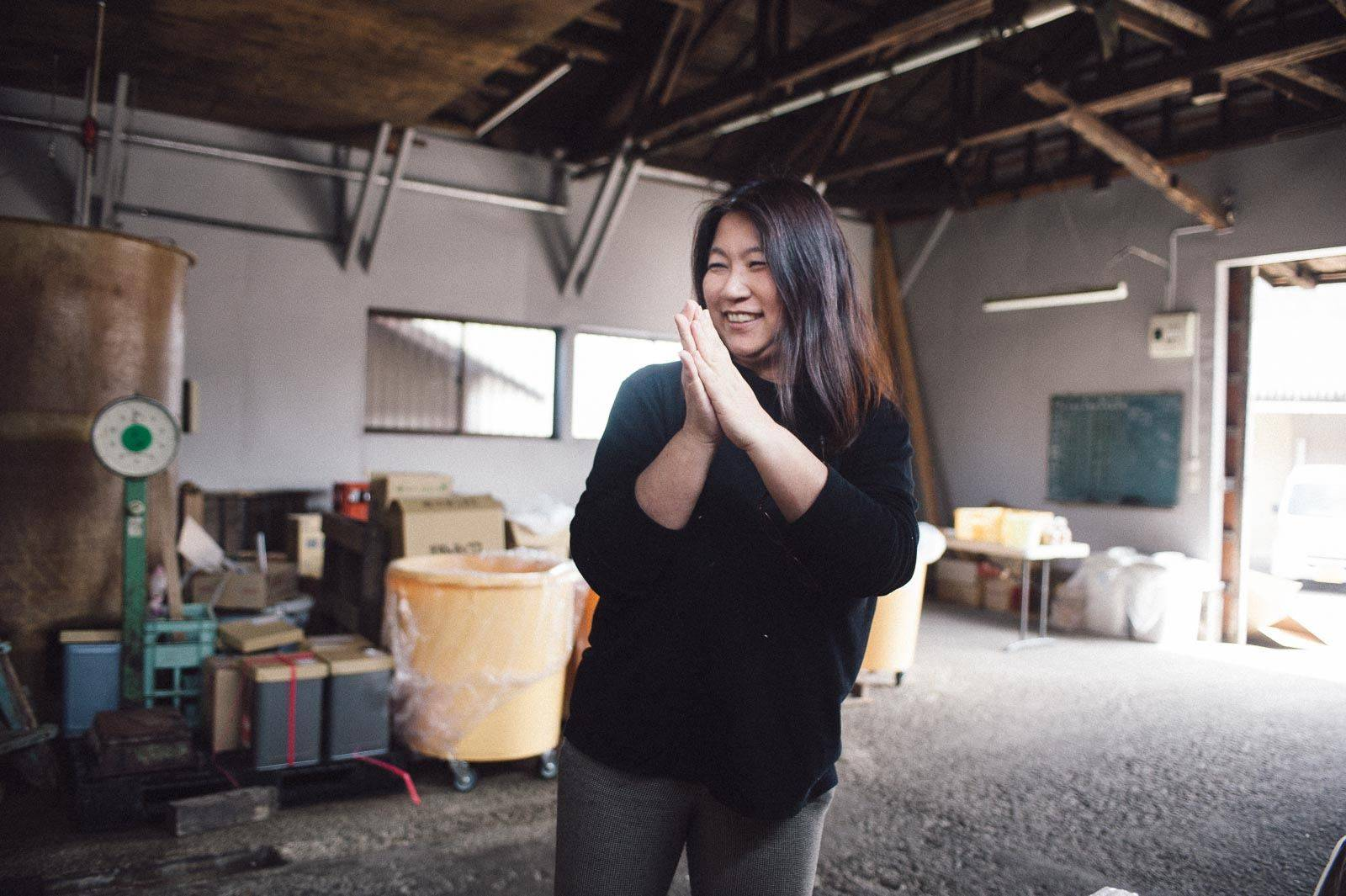 Taking the reins: Yoko Nagatomo Shiomi is one of Japan's few female head miso brewers. | COURTESY OF KANENA MISO & SOY SAUCE BREWERY