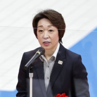 Seiko Hashimoto, the Cabinet minister in charge of the Tokyo Games and a former Olympian, has been floated as a possible replacement to Yoshiro Mori as President of the Tokyo Organizing Committee of the Olympic and Paralympic Games. | KYODO