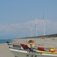 Generating co-benefits with local fishermen is a key to offshore wind farms in Japan. | MASANORI KOBAYASHI