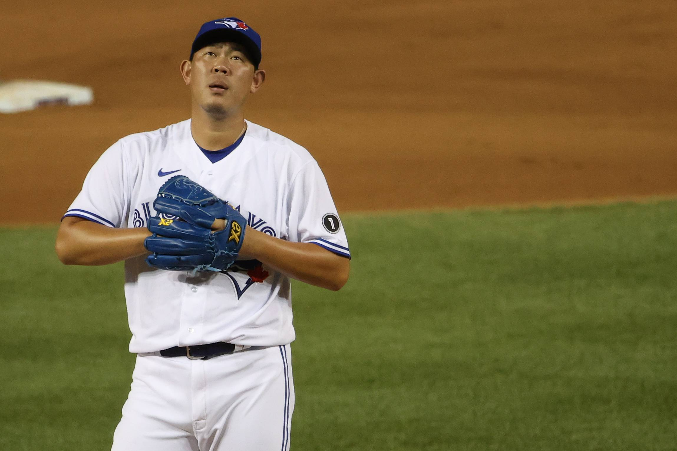 The Blue Jays have released pitcher Shun Yamaguchi after one season. | USA TODAY / VIA REUTERS