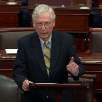 Republican leader Mitch McConnell ripped into Trump in a Senate speech, even though he voted 'not guilty' based on the constitutional question. | REUTERS