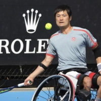 No. 1 seed Shingo Kunieda falls in wheelchair singles semifinals at Australian Open
