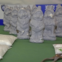 Three held over drugs smuggled into Japan in Snow White dwarfs