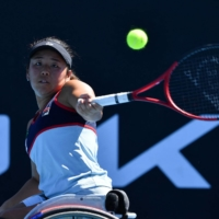 Yui Kamiji falls in Australian Open wheelchair final