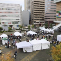A consultation event for impoverished Kurds is held in the city of Kawaguchi, in Saitama Prefecture, in November. | KYODO
