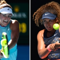 American Jennifer Brady and three-time grand slam champion Naomi Osaka are set to square off in the Australian Open final on Saturday in Melbourne.  | AFP-JIJI