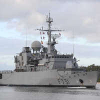 French Navy frigate Prairial arrives in preparation for Rim of the Pacific (RIMPAC) exercises at Joint Base Pearl Harbor-Hickam, Hawaii, in June 2018. | U.S. NAVY / VIA REUTERS