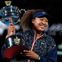 Osaka's second Australian Open title will see her rise to second when the WTA's new world rankings are announced. | AFP-JIJI