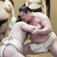 Hakuho reveals virus frustration, hopeful of March return